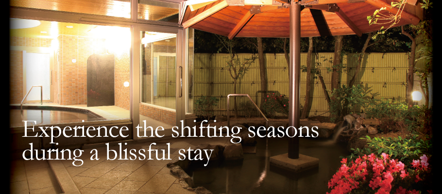 Experience the shifting seasons during a blissful stay